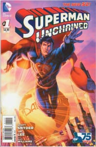 Superman Unchained 1 New 52 Variant