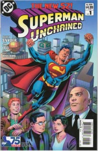 Superman Unchained 1 1:25 Variant