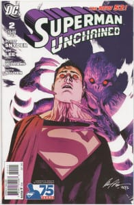 Superman Unchained 2 Villain Variant
