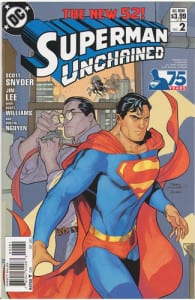 Superman Unchained 2 1:25 Modern Age Variant