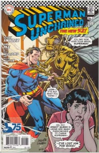 Superman Unchained 2 1:50 Silver Age Variant