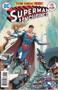 superman unchained 5 bronze