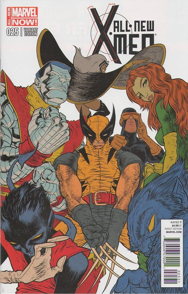 All New All Different Avengers Vol 1 2: All-New X-Men #25 1:25 Variant